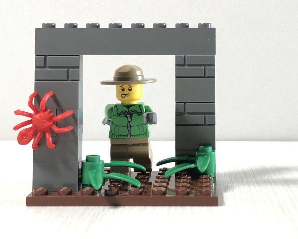 365 cose da fare con i mattoncini Lego: illusione ottica