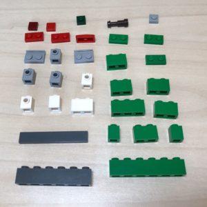 365 cose da fare con i mattoncini Lego: pezzi per la casetta in microscala