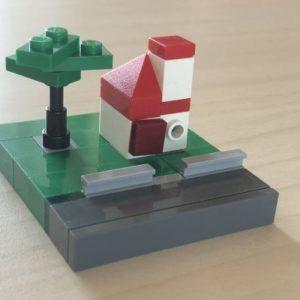 Esempio di costruzione dal libro 365 cose da fare con i mattoncini Lego