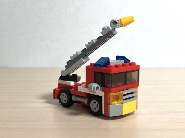 Lego creators 6911 mini camion dei pompieri